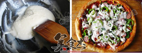 椰香馕披萨怎么煮