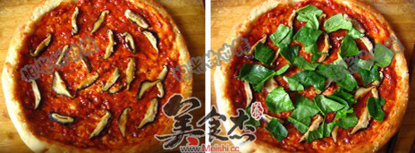 椰香馕披萨怎么吃