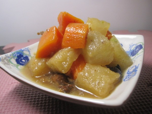 蒜香双瓜炖牛肉怎么炒