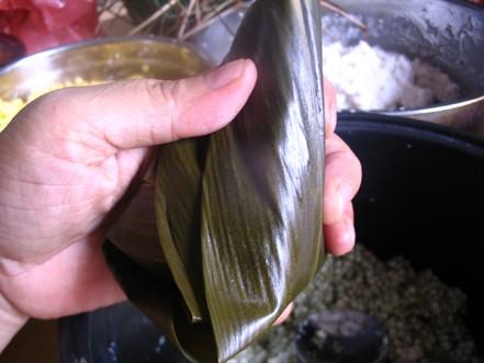 水晶粽子的制作方法