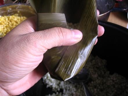 水晶粽子的制作