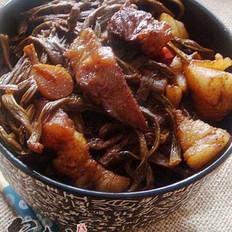 豇豆干烧肉