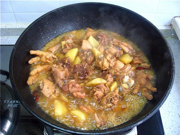 鸡肉炖土豆怎么煮