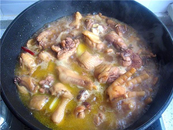 鸡肉炖土豆怎么炒