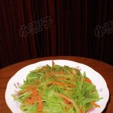 莴笋胡萝卜丝