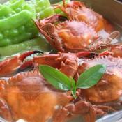 螃蟹苦瓜煲