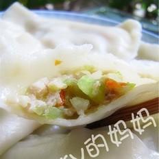西瓜皮鲜肉饺子
