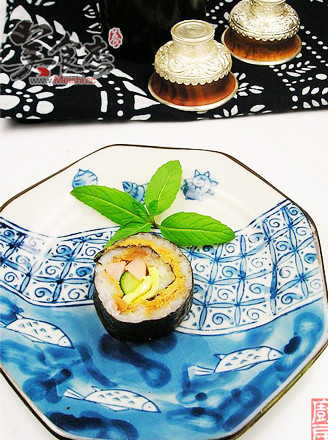 肉松壽司的做法
