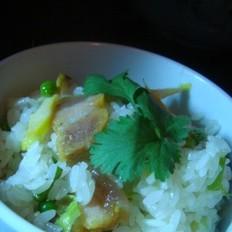 豌豆咸肉饭
