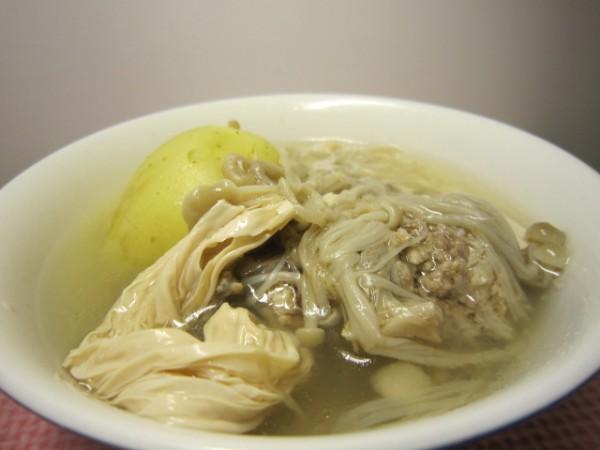 金针菇做法排骨汤猪肉辅食窍门泥的土豆宝宝图片