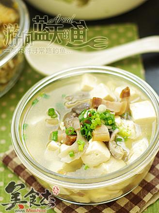 咸肉豆腐湯的做法