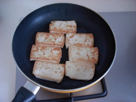 盐煎豆腐的做法图解