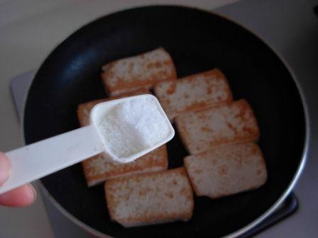 盐煎豆腐的家常做法