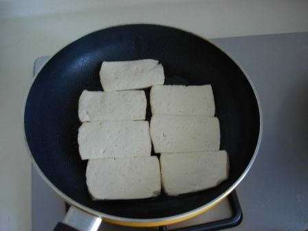 盐煎豆腐的做法大全