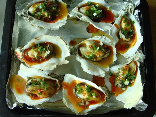 烤牡蛎怎么做