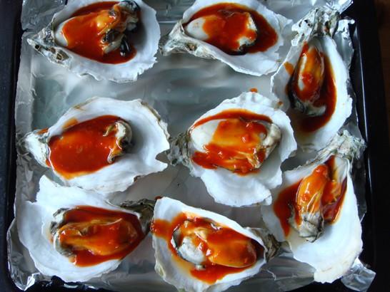 烤牡蛎怎么吃