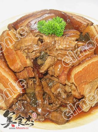 梅菜笋干扣肉的做法