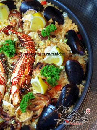 西班牙海鮮飯的做法