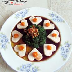 蛋黄豆腐花