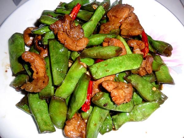 四季豆炒肉的做法【步骤图】_菜谱_美食杰