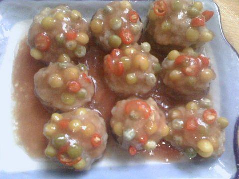 茄汁五彩香菇酿怎么煸