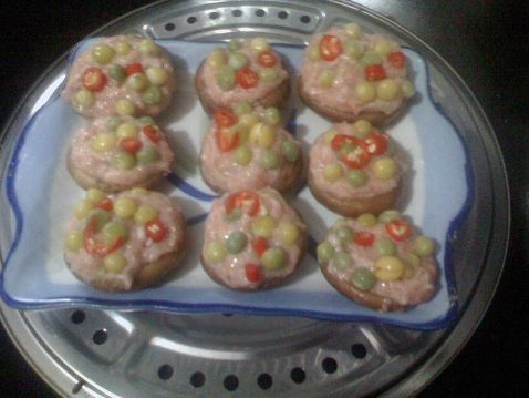 茄汁五彩香菇酿怎么炒