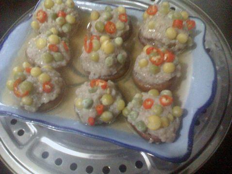 茄汁五彩香菇酿怎么煮