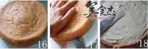 哈密瓜生日蛋糕怎么做
