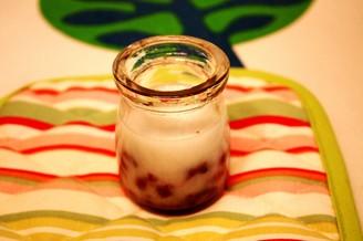 椰奶红豆布丁的做法