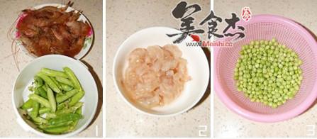豌豆炒虾仁的做法大全