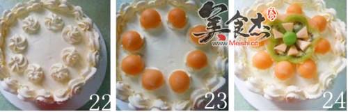 哈密瓜生日蛋糕怎么煮