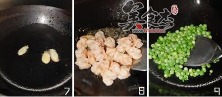 豌豆炒虾仁的家常做法