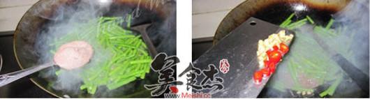 虾酱炒豆角的简单做法