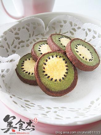 奇异果造型饼干的做法