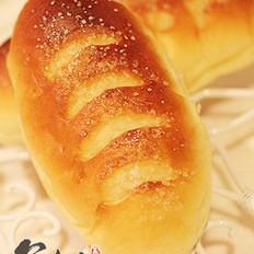 牛奶白糖面包