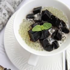 椰汁西米龟苓膏