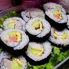 家庭版壽司
