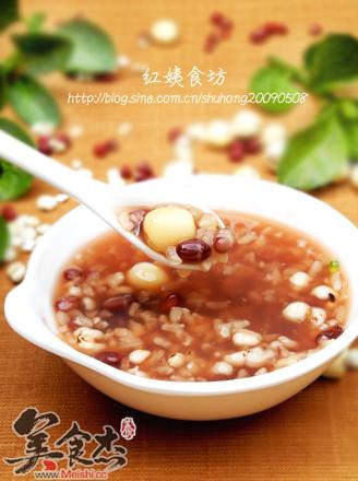 薏米红豆莲子粥的做法