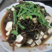 海带丝凉拌豆腐