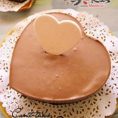 巧克力慕斯杏仁蛋糕