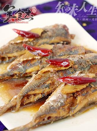 辣味醋焖沙丁鱼的做法