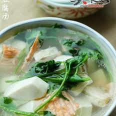三文鱼豆腐汤