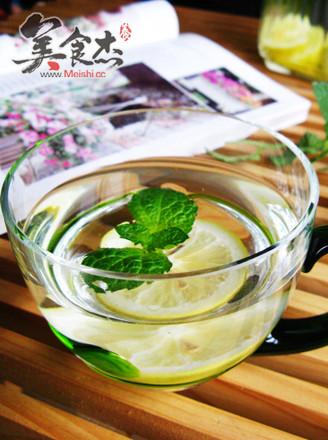 薄荷柠檬蜂蜜水的做法