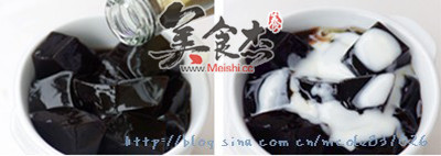 蜜汁椰奶龟苓膏的家常做法