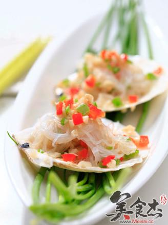 粉絲蒜蓉烤扇貝的做法