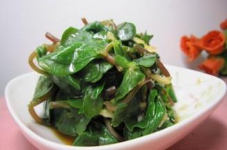 蒜泥螞蚱菜的做法