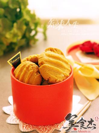 杏仁花生酱饼干的做法