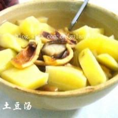 鱿鱼土豆汤的做法