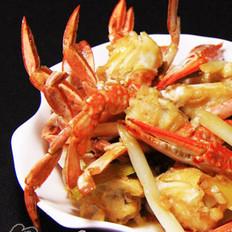 葱姜炒蟹的做法大全