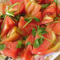 盐拌西红柿